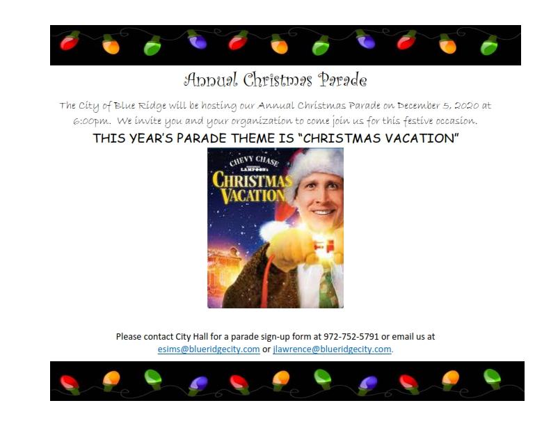 2020 Christmas Parade