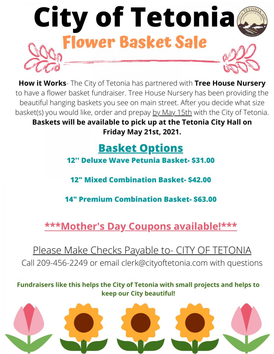 Flower Fundraiser 2021