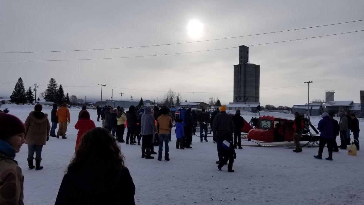 Snow Plane Rally