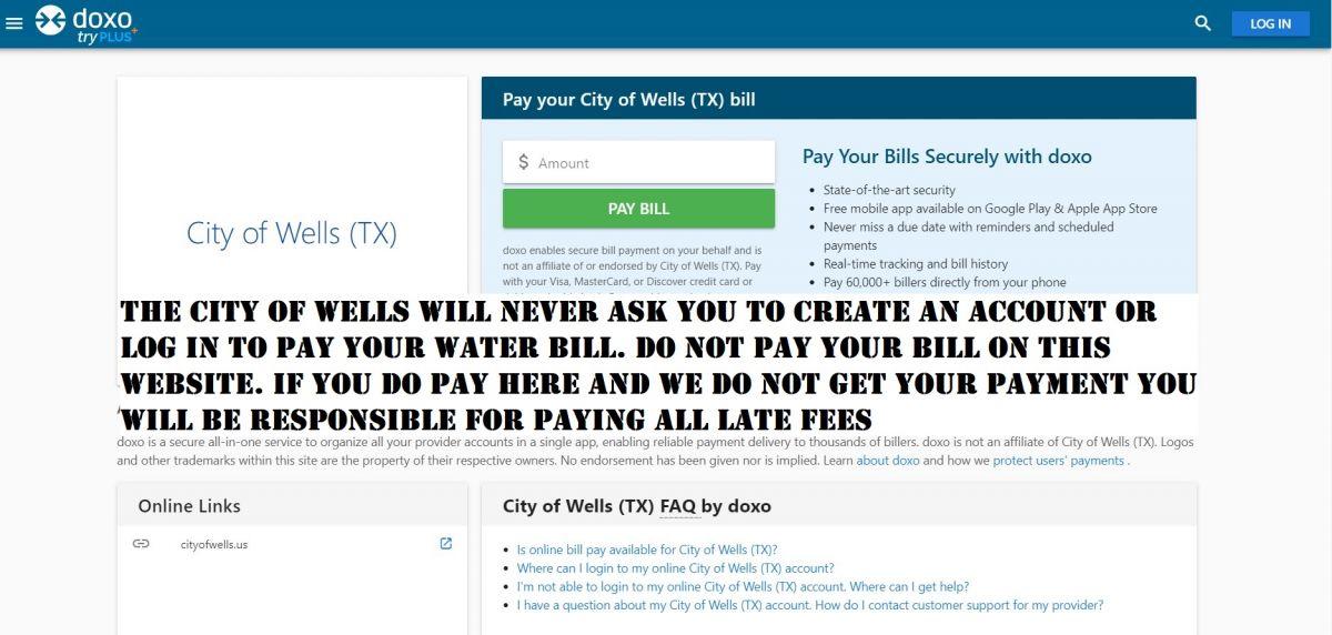 DOXO Website