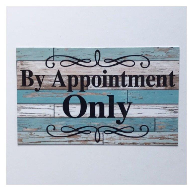 By Appointment