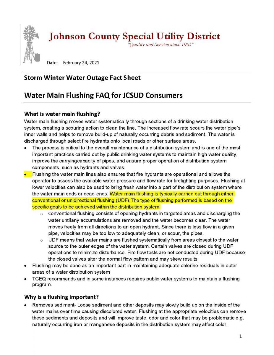Flushing Page 1