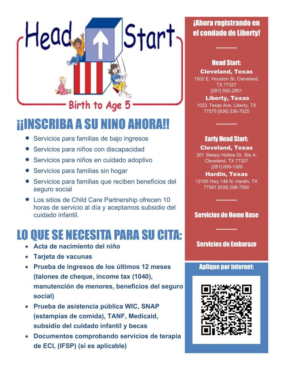 Liberty Head Start Spanish